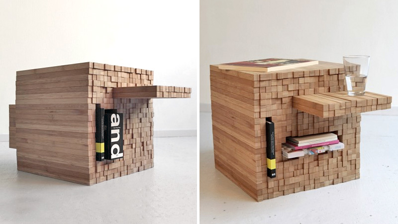 Click here to read Jenga-Inspired Table Is Hopefully a Bit More Stable
