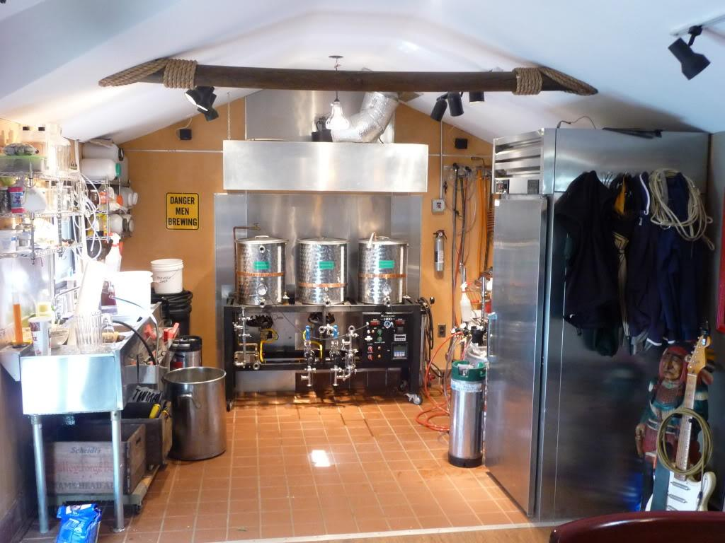 The Home Brewing Laboratory Of Every Beer Drinkers Dreams List A 18m X 3m  Walk In