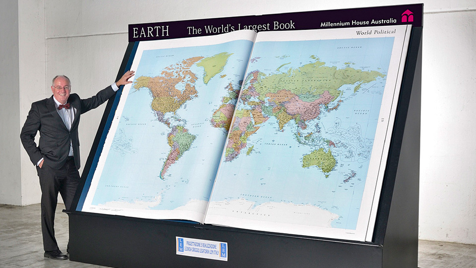 Click here to read World's Largest Atlas Needs Two People To Turn Each Page
