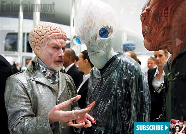 Gaze upon Rick Baker's amazing retro aliens from Men in Black 3