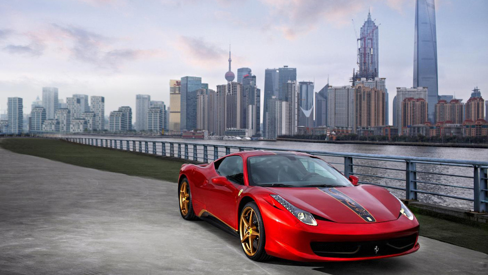 "Ferrari 458 China ""20th Anniversary Special Edition"""