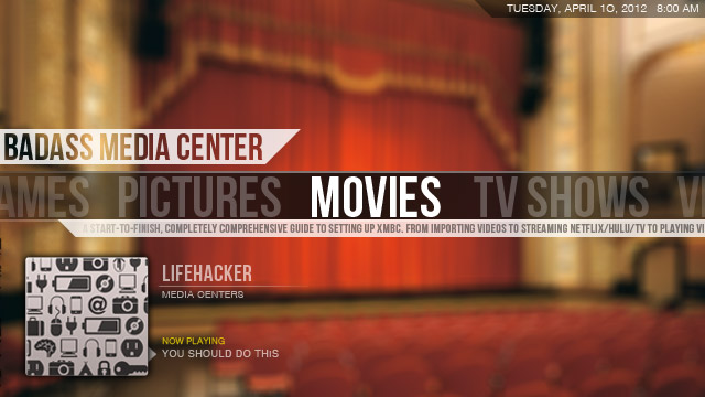 Click here to read Create a Kickass, Seamless, Play-Everything Media Center: The Complete Guide