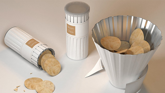 Now This Is How You (Hypothetically) Redesign the Pringles Can for the 21st Century