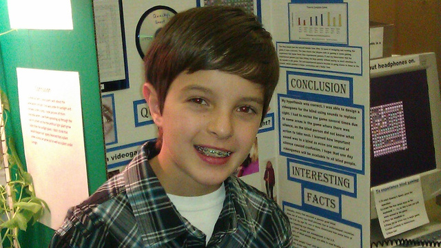 Meet The Fifth-Grader Who Made A Video Game For His Blind Grandmother