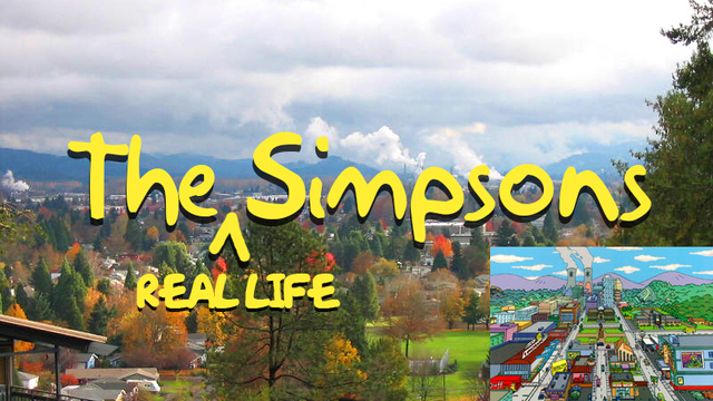 What The Simpsons' Springfield Looks Like in Real Life