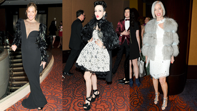 Crystal Renn Shows Off New, Invisible Eyebrows at NYC Charity Gala