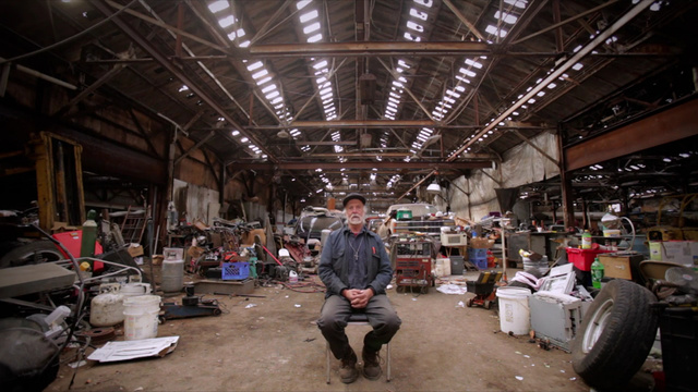 Meet Allan Hill, The Man Who Lives In Detroit's Abandoned Packard Auto Plant
