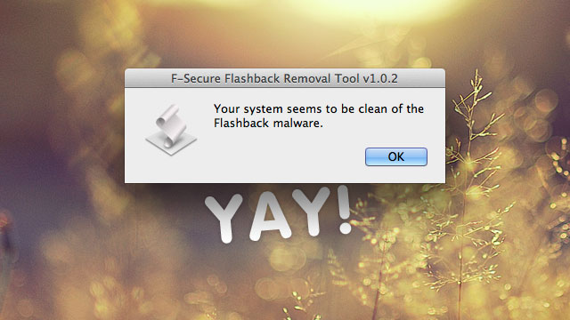 Click here to read Check for and Remove the Flashback Trojan from Your Mac in an Instant