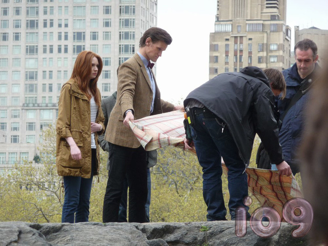 Exclusive Photos from Doctor Who's New York Set