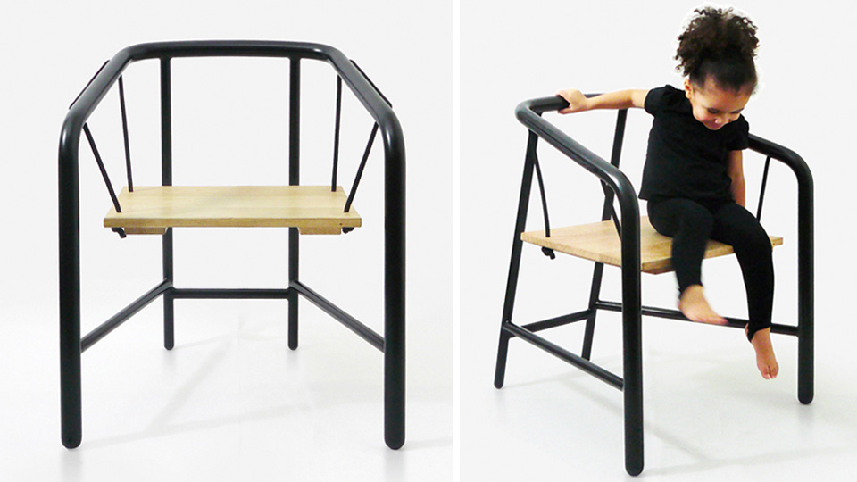 Click here to read You Will Never Be Too Old For Your Own Personal Swing Chair
