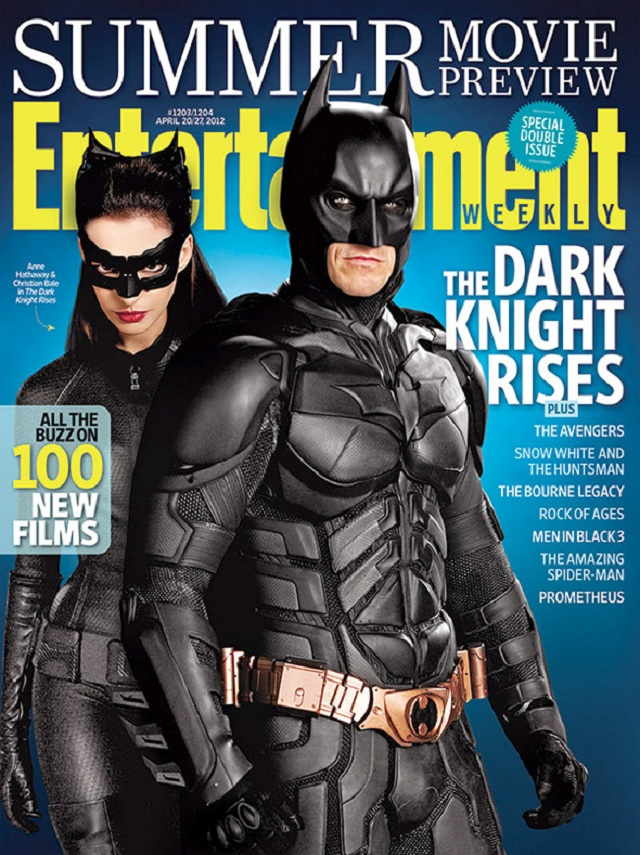 Latest Dark Knight Rises Pic: Batman's Bat-Buckle, Catwoman's Pointy Ears