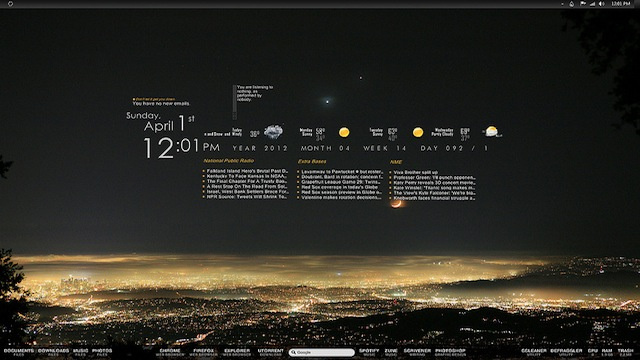 The Happy Sky Desktop