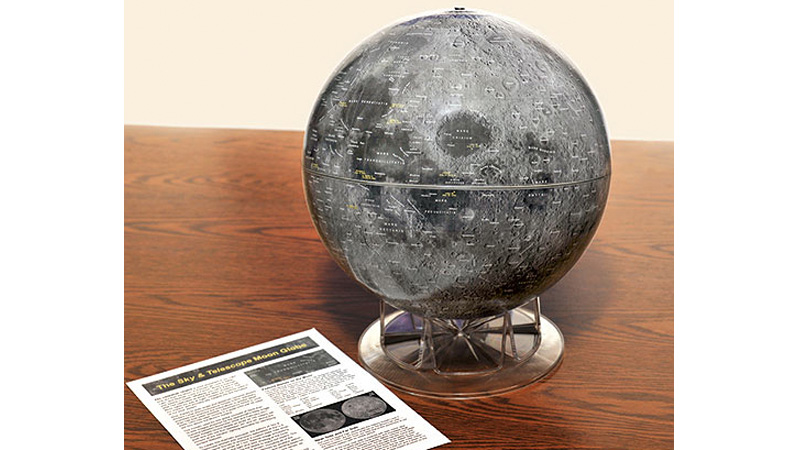 Click here to read Don't Forget To Pack This Highly-Detailed Moon Globe For Your Next Lunar Vacation