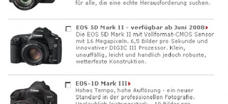 Canon 5D Mark II Supposedly Surfaces Online, Due in June