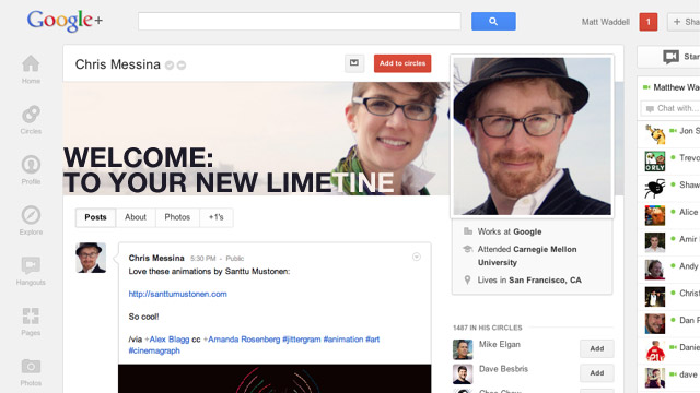 "Click here to read Are You ""Using"" Google+?"