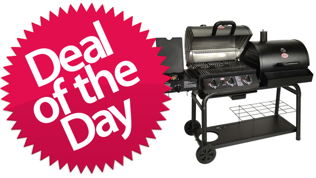 Click here to read This Gas And Charcoal BBQ Is Your Grill-Baby-Grill Deal of the Day