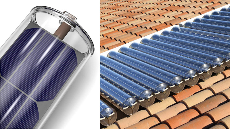 Click here to read Solar Panel-In-a-Tube Generates Power and Hot Water At the Same Time