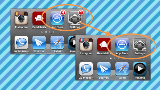 Click here to read How to Hide the Notification Badges for Settings, App Store, and Cydia on Your iOS Home Screen