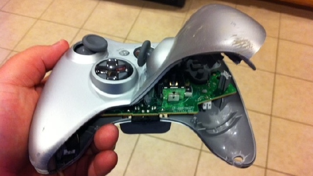 Xbox 360 Controllers Pay the Ultimate Price for Missed Perfection