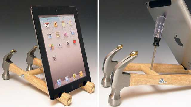 Literally Use Your Tools To Build an iPad Stand