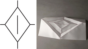 This Inkjet Prints Self-Folding Origami