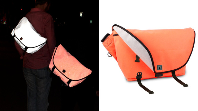Carrying This Luminescent Messenger Bag Is Like Having a Firefly's Butt