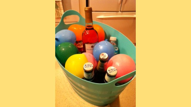 Click here to read Freeze Water Balloons to Keep Drinks Cold