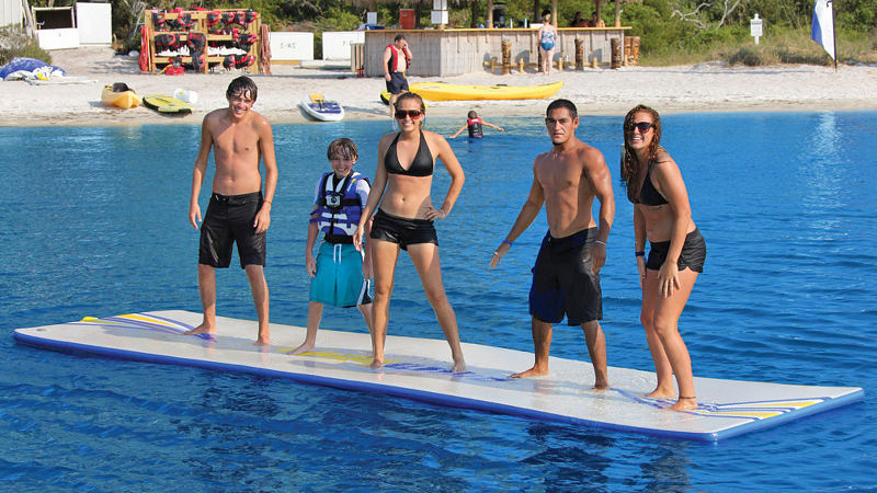 Click here to read Inflatable Mat Lets You Walk On Water, Other Miracles Left Up To You