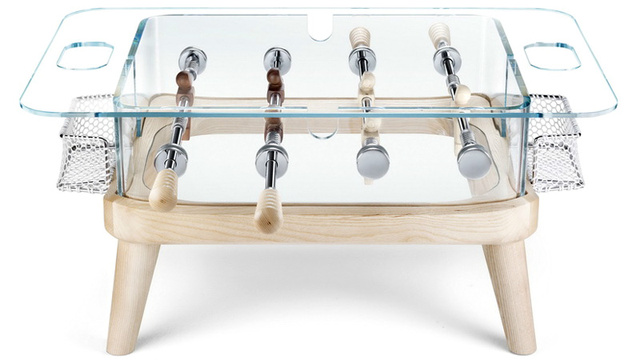 Compact Foosball Coffee Table Makes For a Great Alternative To After-Dinner Conversation