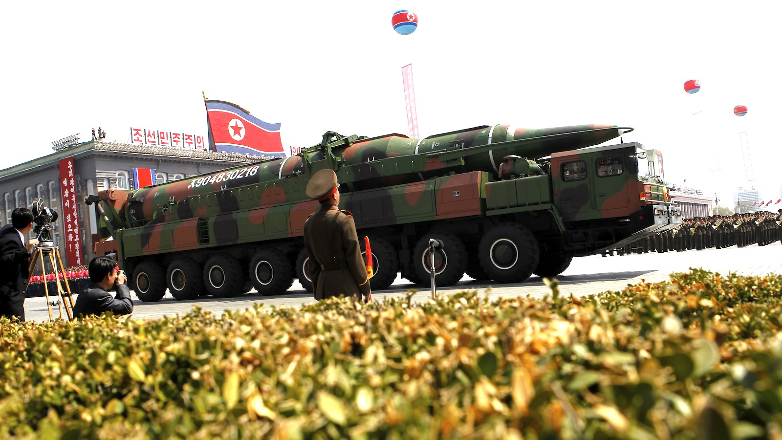 Click here to read North Korea Shows Off Glorious New Weapons that Probably Won't Work