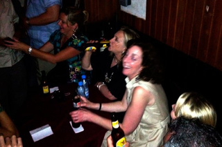 Hillary Clinton Caught On Camera Drinking Cerveza, Doing the Rumba in Cartagena