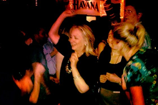 Click here to read Hillary Clinton Caught On Camera Drinking Cerveza, Doing the Rumba in Cartagena