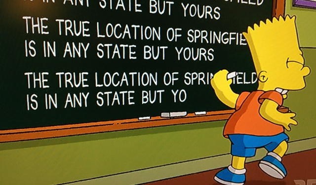 Spoiler Alert: Tonight's Simpsons Episode Reveals True Location of Springfield