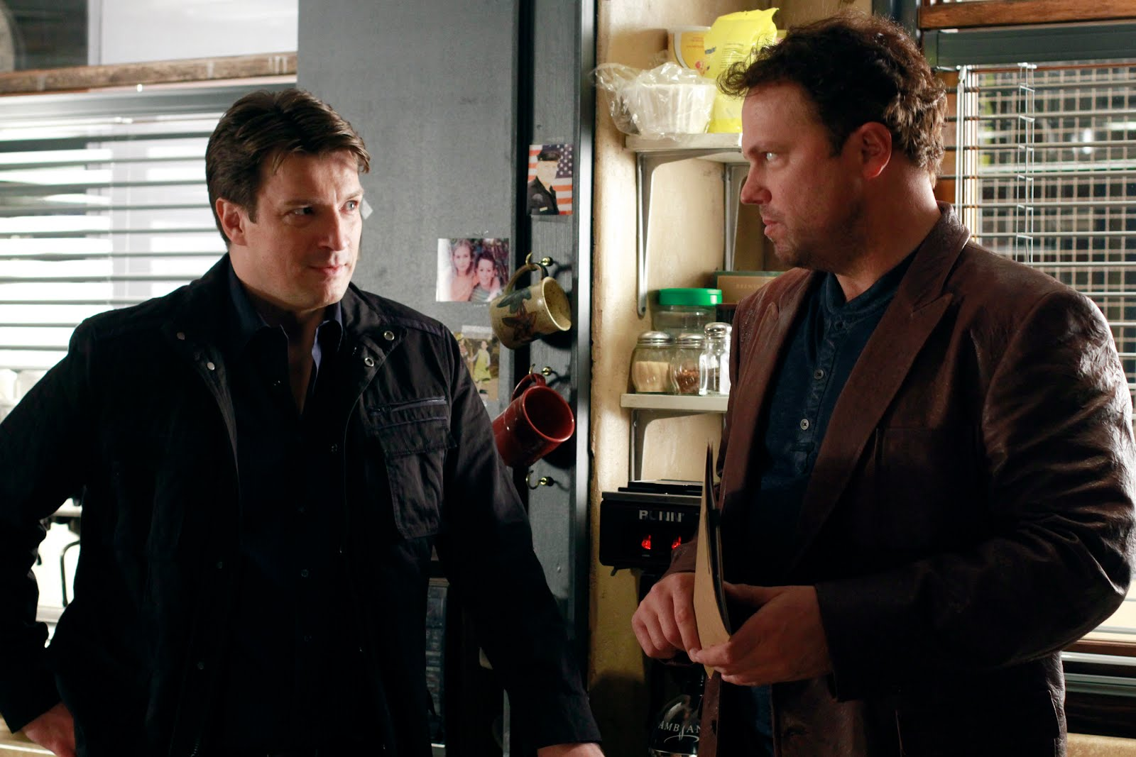 ... Firefly costar Adam Baldwin ? and we have six clips from the episode!