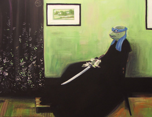 Batman and Darth Vader invade art history, in these absolutely deranged paintings