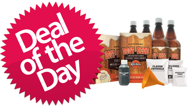 The Root Beer Making Kit Is Your Mixin'-Up-A-Batch-Of-Sassafrass Deal of the Day [Dealzmodo]