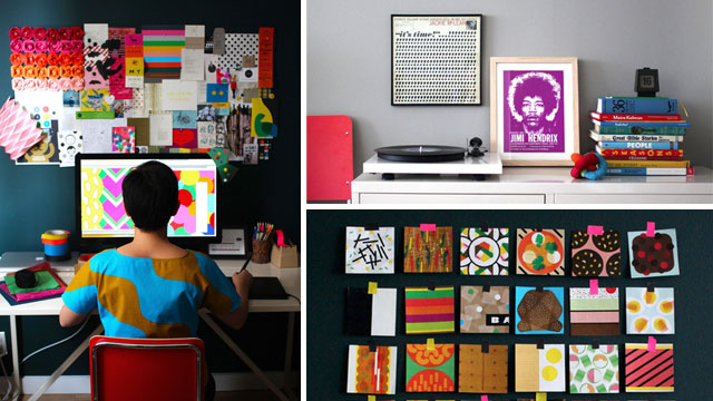 Click here to read How Color Can Make a Difference: The Inspiration Studio Workspace