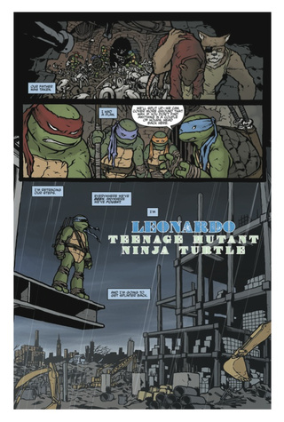 An exclusive sneak peek at this week's Ninja Turtles comic