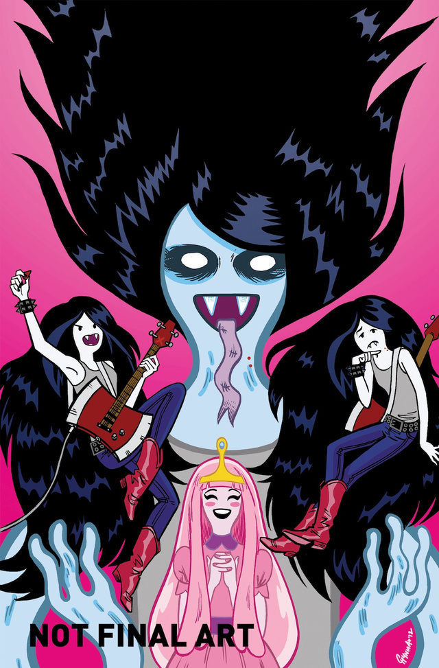 Adventure Time's Marceline gets her own comic spin-off