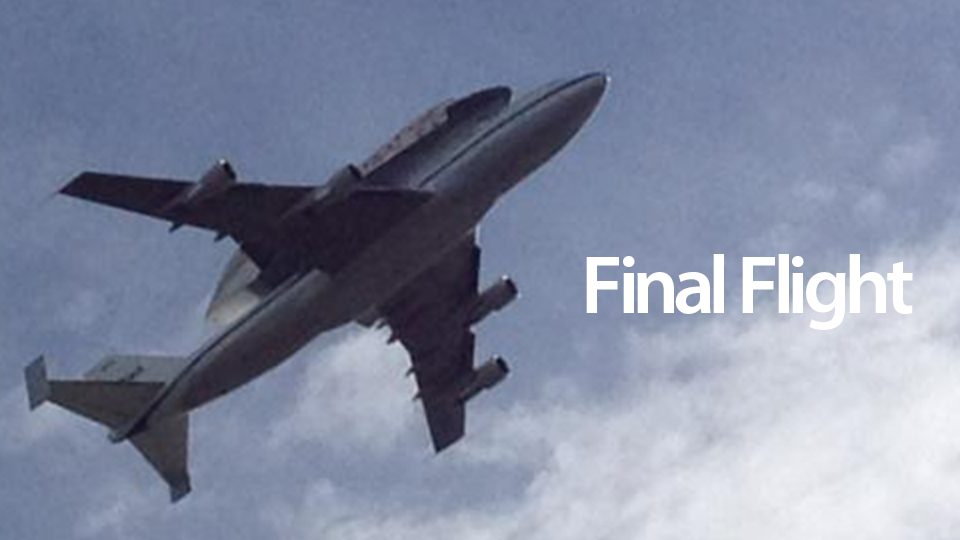 Click here to read Goodbye, Discovery: Legendary Space Shuttle Takes Its Final Flight