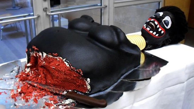 Swedish Official Gleefully Cuts Racist Black Lady Cake, Delights Onlookers