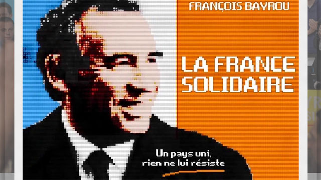 French Presidential Candidate's Website Hides an 8-Bit Konami Code Surprise
