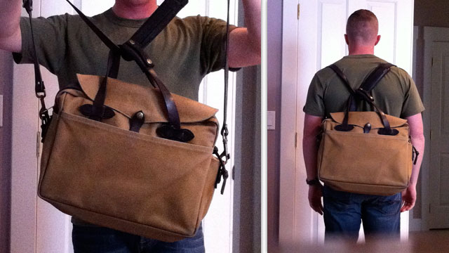Click here to read Turn Any Messenger Bag or Briefcase into a Backpack in an Instant