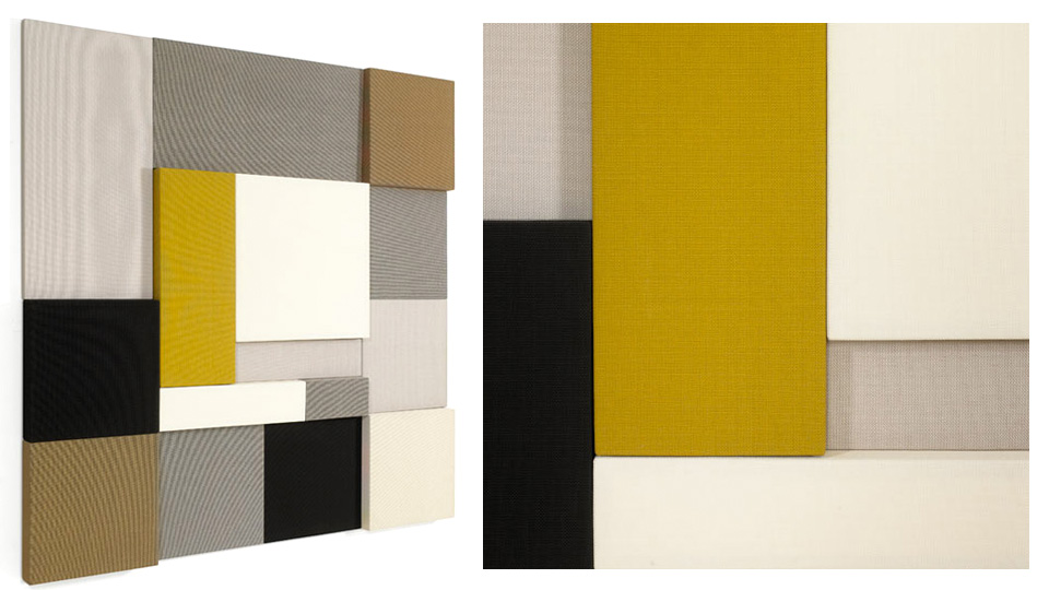 The Ghost Of Mondrian Haunts These Sound Absorbing Wall