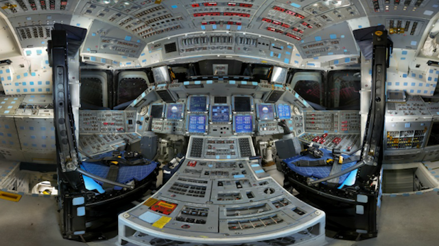 how big inside spacecraft - photo #2
