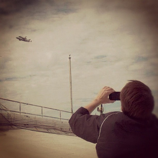 NASA Captures Shuttle's Capitol Hill Flyby With—What Else—Instagram (Updated)