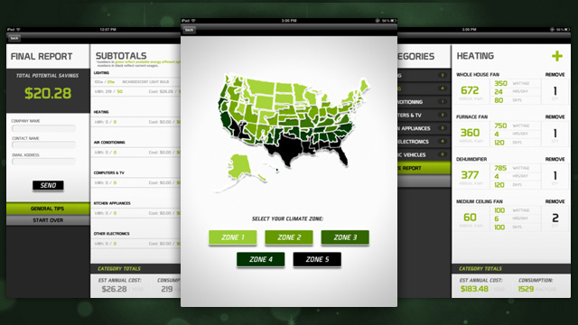 Verde for iPad Suggests Simple Changes You Can Make to Save Money and Energy