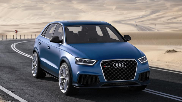 Audi RS Q3 Concept: A Little Trouble In Big China