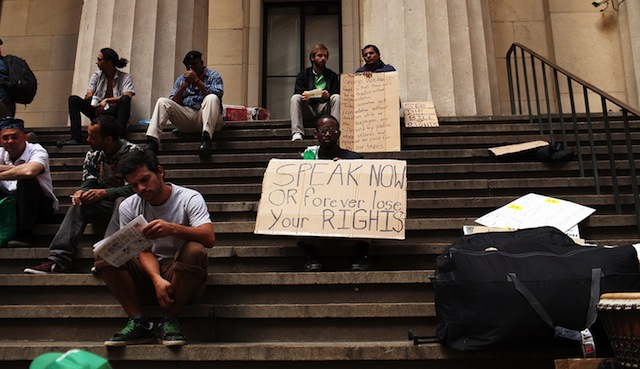 Click here to read So Where's That Occupy Wall Street Comeback?