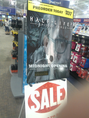 Best Buy Offering Pre-orders For...Half-Life 2: Episode 3? [Update: The Joke Was a Hoax]